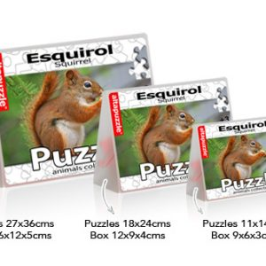 Puzzle Squirrel